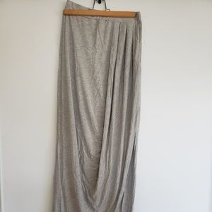 Armani Exchange Grey Maxi Dress/Skirt Size S